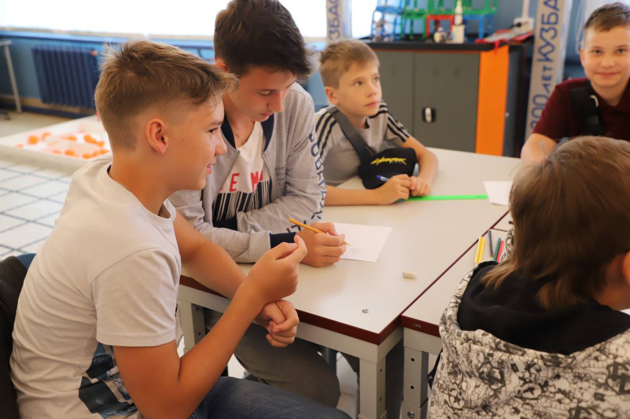 Сегодня завершились инженерные каникулы в детском технопарке «Кванториум 42»
